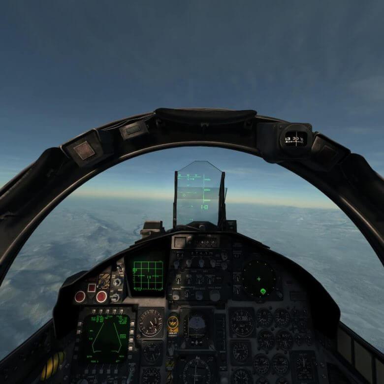 VRでフライトシミュレータ DCS World F-15編 saitek x-55設定