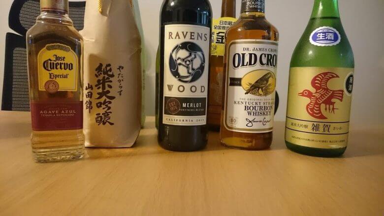 世界中から集めたカラスのお酒いろいろ
