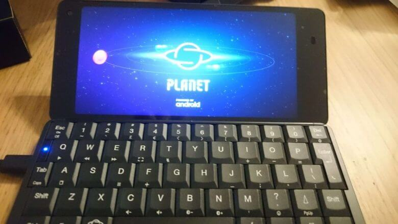 gemini PDA 2ndロットが届いたのでレビュー