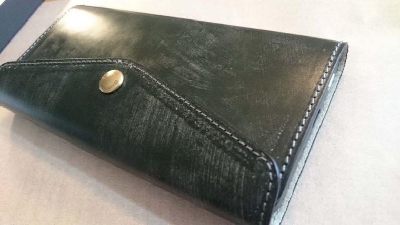 gemini PDA 専用革ケースインプレッション 国立商店のブライドルレザーケース