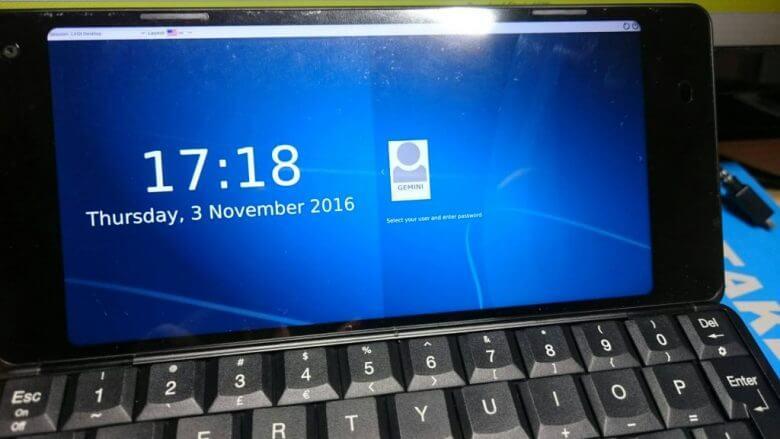 gemini PDA Debian 側を文鎮にしてしまう話 Debian領域の復旧