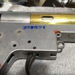 ハイサイクル カスタム開始 ダブルセクターギア用ピストン加工とインナーバレル長