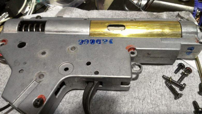 クァンタムギア(ダブルセクターギア) タペットプレート調整