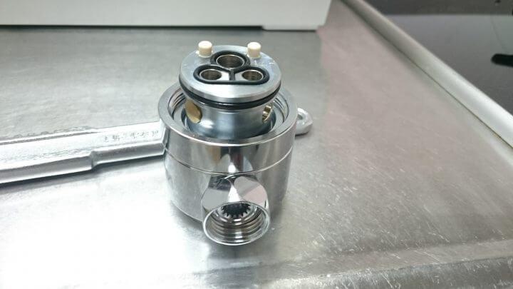 食洗器 DIYで取り付けました 水栓の分解と解説