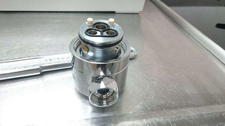 食洗機 DIYで取り付けました 水栓の分解と解説