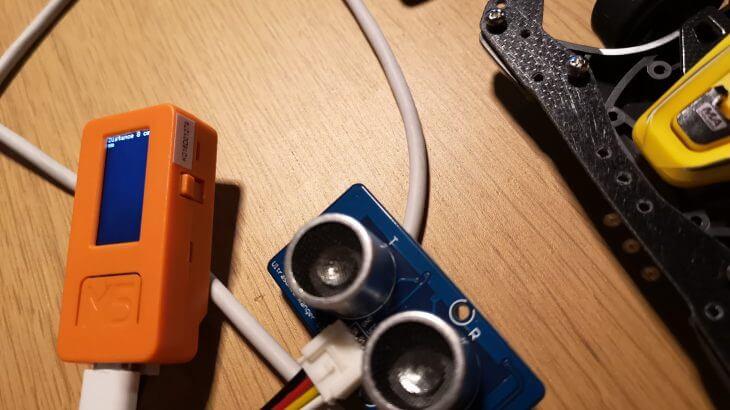 M5 Stick Cでミニ四駆ラップタイマーを作りました。